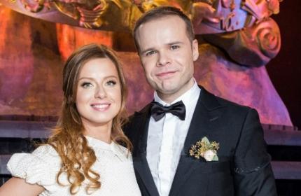 Юлия савичева с мужем свадьба фото