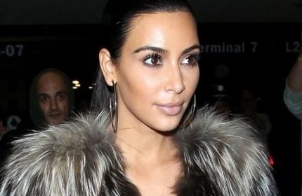 Смотреть Ким Кардашьян попала в ДТП видео
