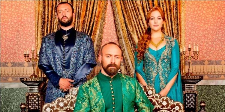 Главные герои сериала Великолепный век
