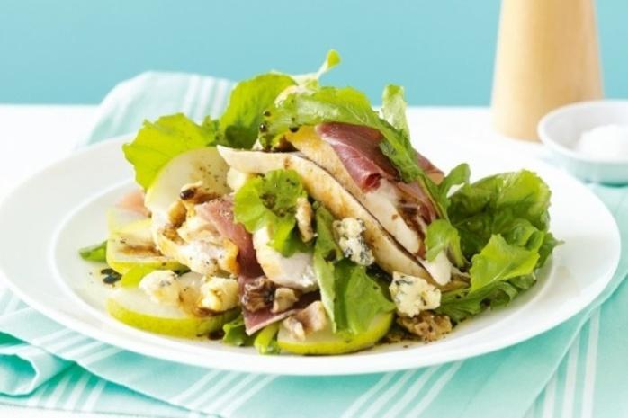 рецепт салат с курицей и грушей рецепт