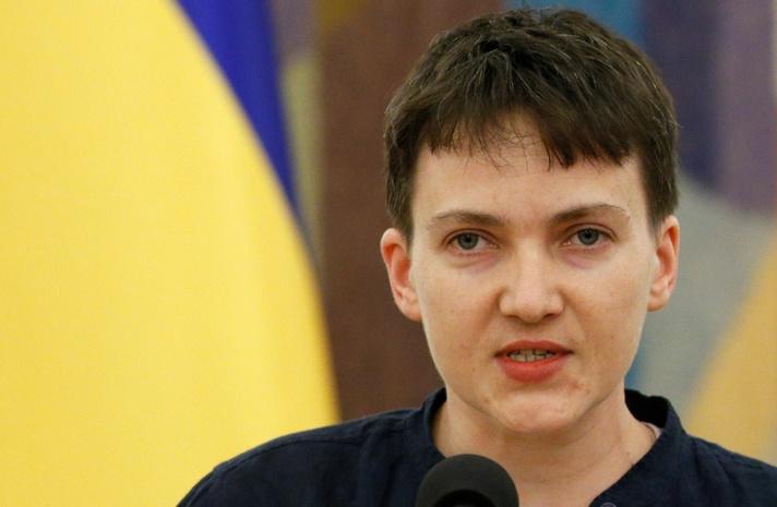 Опрос: половина украинцев неподдерживает слова Савченко