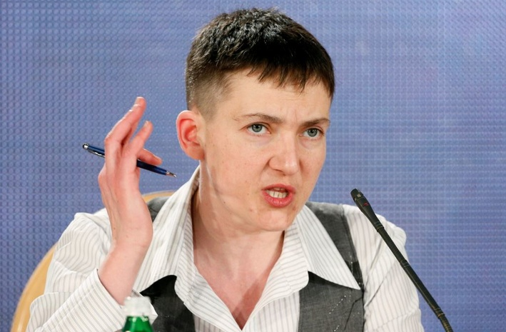 Савченко намекнула натого, кто тормозит мирный процесс наДонбассе