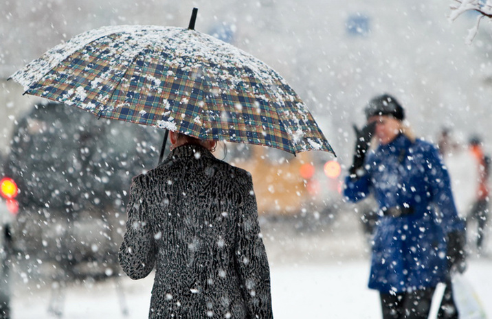 Синоптики обещали красноярцам потепление до +2С°