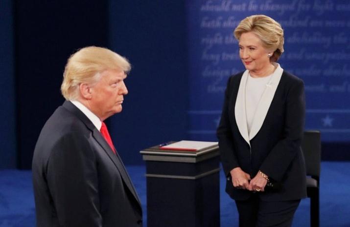 Трамп vs Хиллари