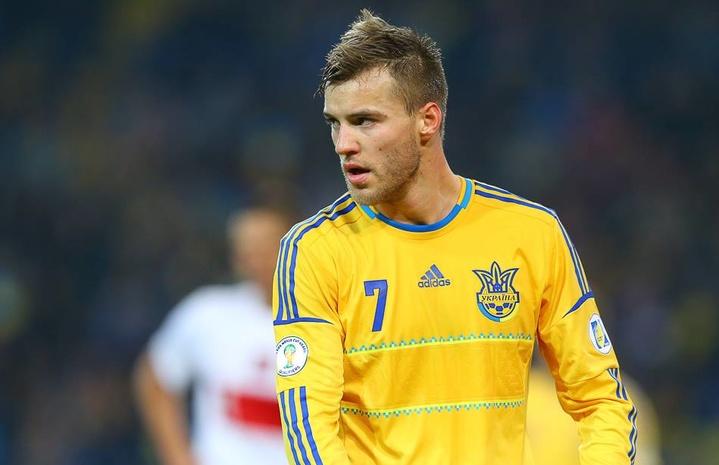 Ярмоленко побил рекорд Шевченко всборной Украины
