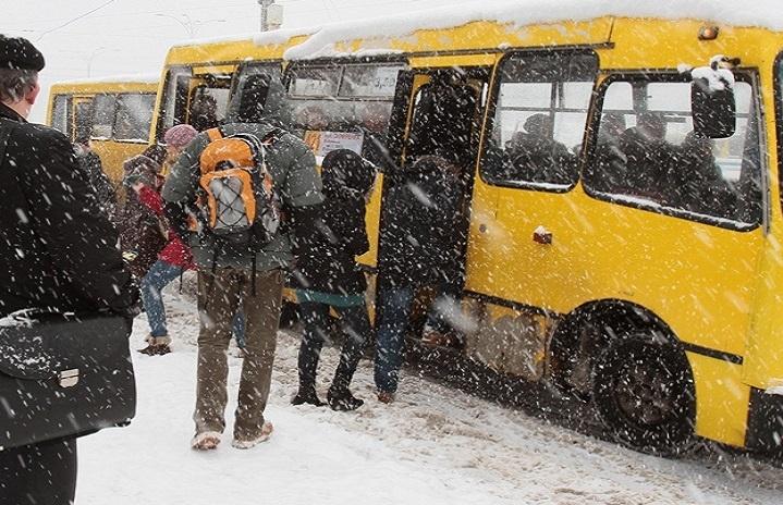 Местные ипригородные маршрутки подняли цены— Наезд напроезд