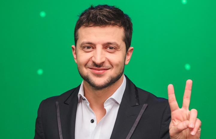 Комик Владимир Зеленский