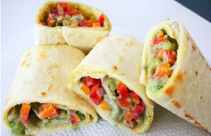 Рулеты из мексиканских лепешек рецепты
