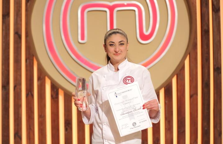 Победительница шоу МастерШеф-6 Асмик Гаспарян