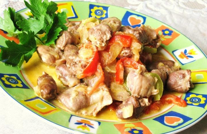 Блюда из потрашков куриных