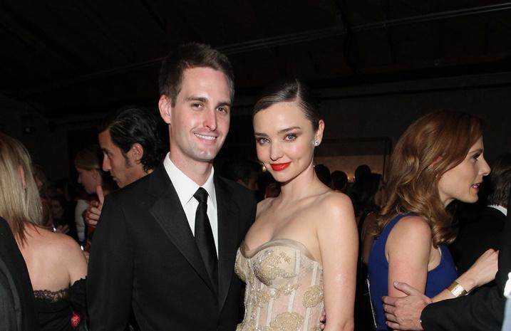 Міранда Керр і творець Snapchat одружилися— ЗМІ