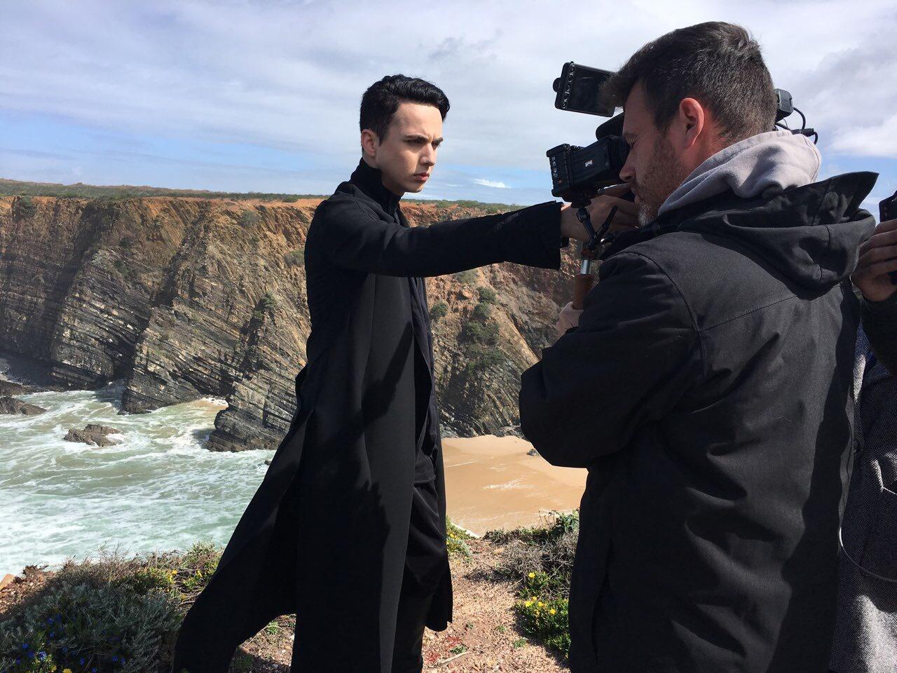 Евровидение 2018: Melovin прилетел вПортугалию для записи визитки