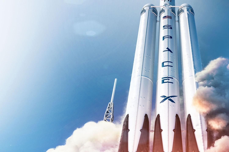 spacex falcon heavy rocket - HD1500×1000