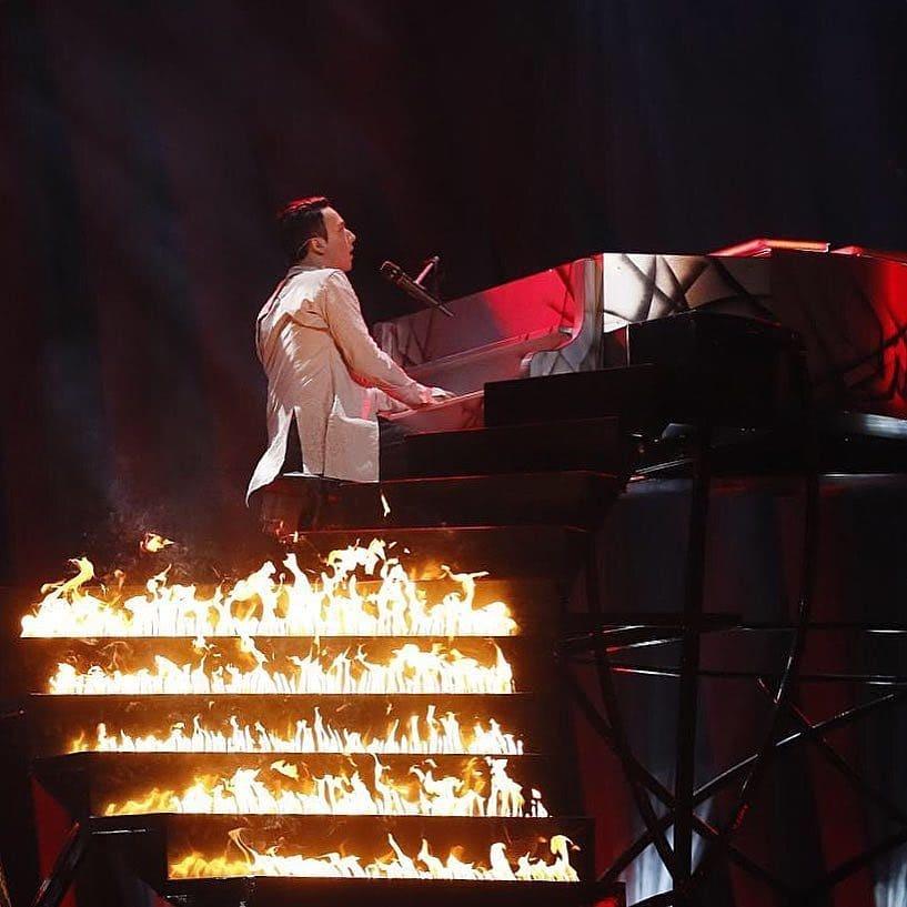 Участник «Евровидения» отУкраины забыл мову иперешел на российский