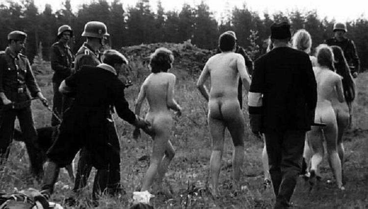 вот франции фото эротика с пленными выпила